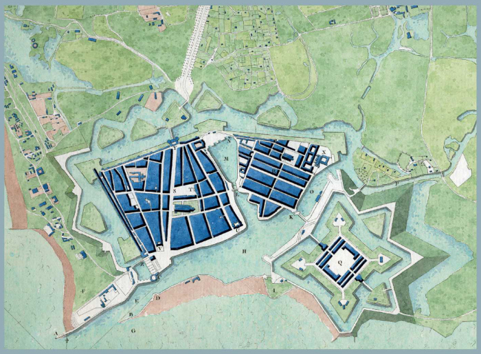 Le Havre plan 1778
