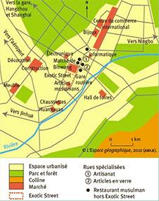 échelle locale espace géographie yiwu Olivier Pliez Basse def