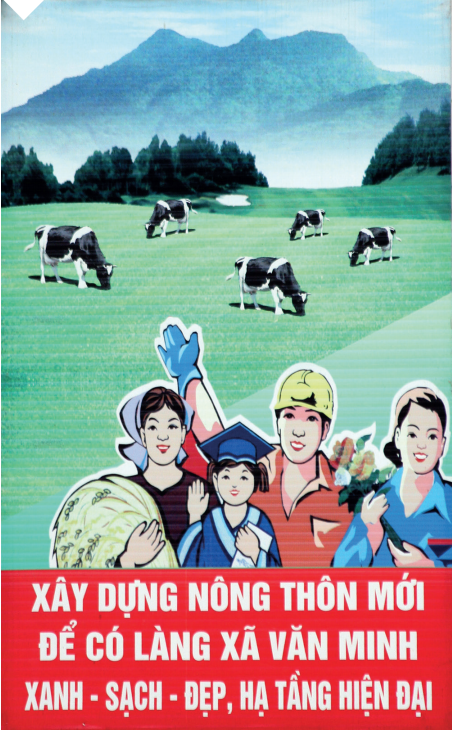 affiche vietnam élevage laitier
