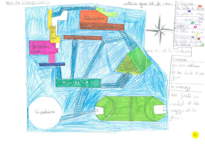 plan de mon école idéale