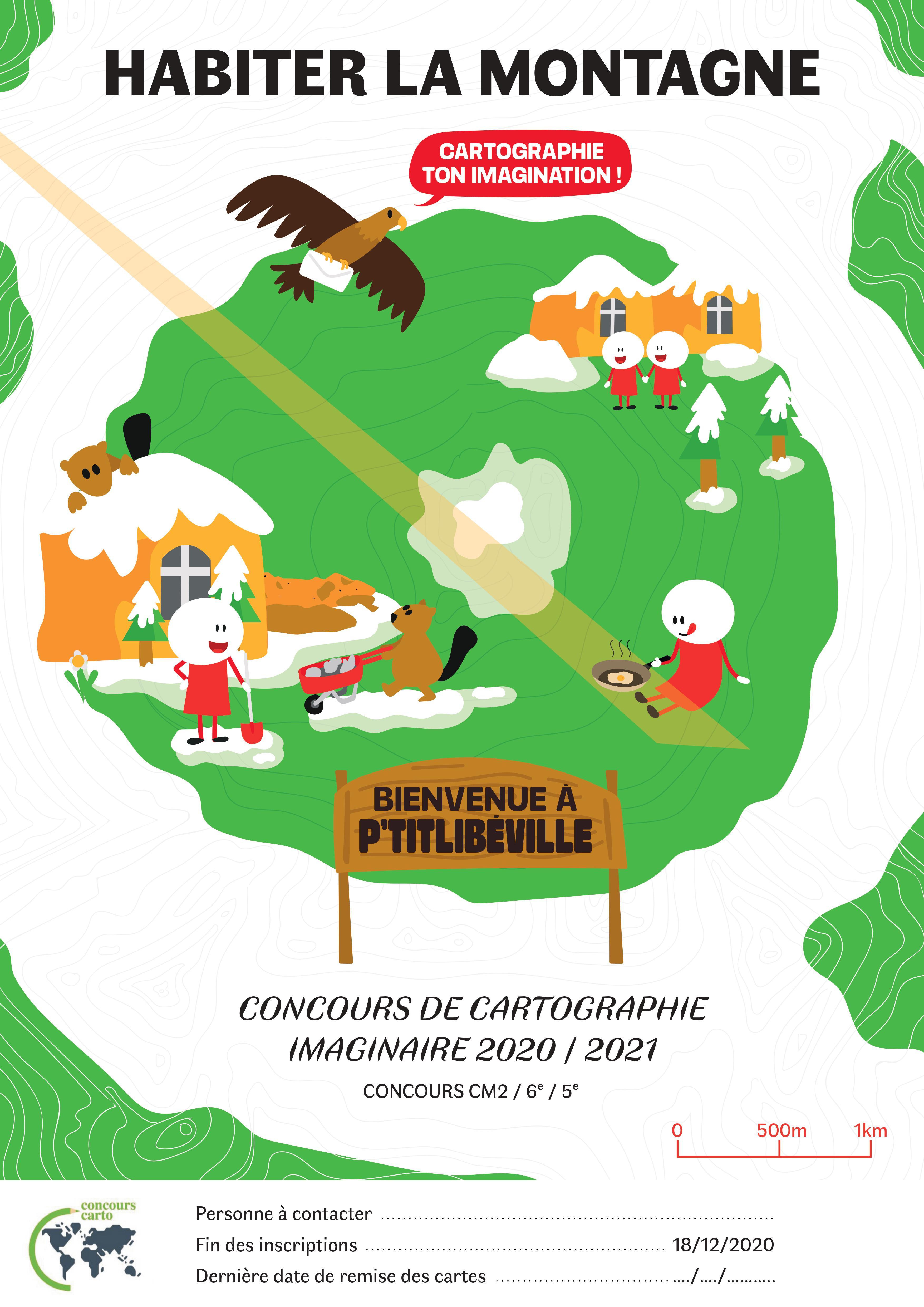 Concours de cartographie, édition 2021 — Géoconfluences