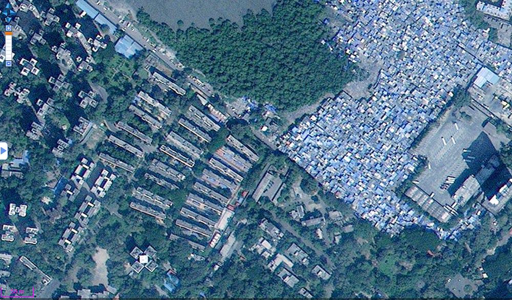 Bidonvilles à Mumbai / Bombay slums CBD