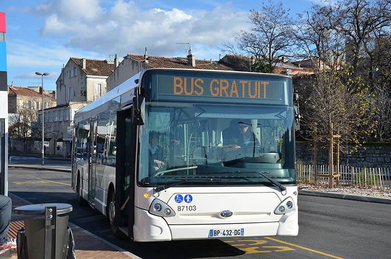 Gratuité des bus à Aubagne
