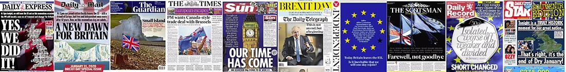 UK press Brexit