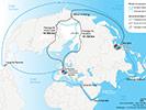 Routes arctiques