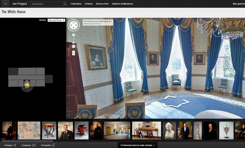 Finest La Maison Blanche La Blue Room Salon De Rception